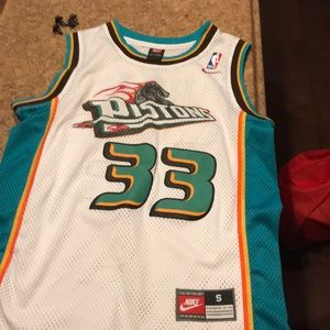 Grant Hill Detroit Pistons Home Jersey
